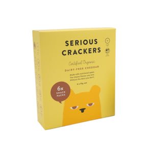 Serious Food Co Cheddar Crackers