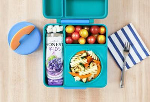 Omiebox Bento Lunchbox With Thermal Container - Meadow