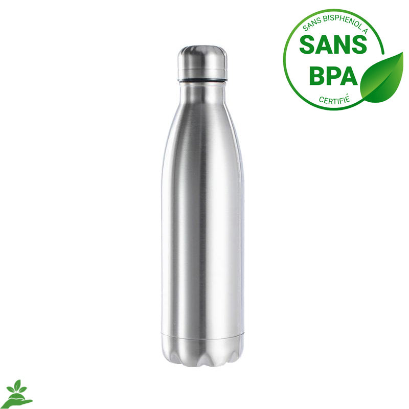 Bouteille Isotherme en inox