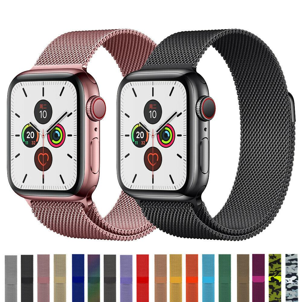 Milanese Loop Band Strap For Apple Watch Series 6 5 4 3 2 1 38 42 40 44mm