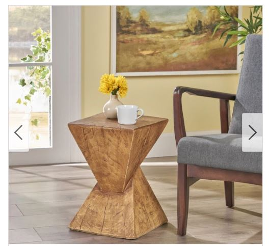 Contemporary End Table Side Accent Stand