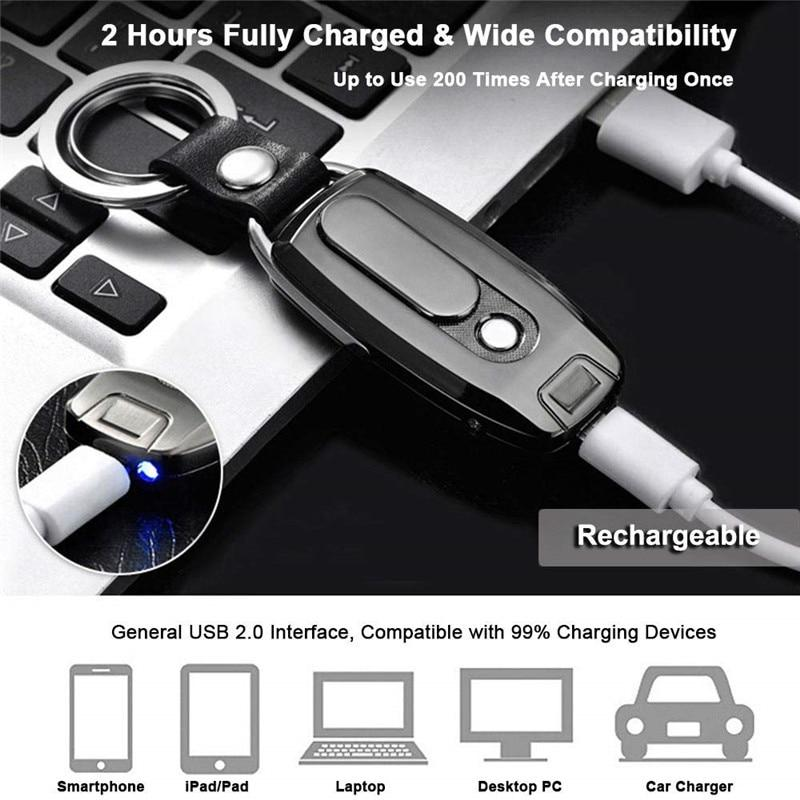 Rechargeable USB Keychain Lighter Urban Pronto