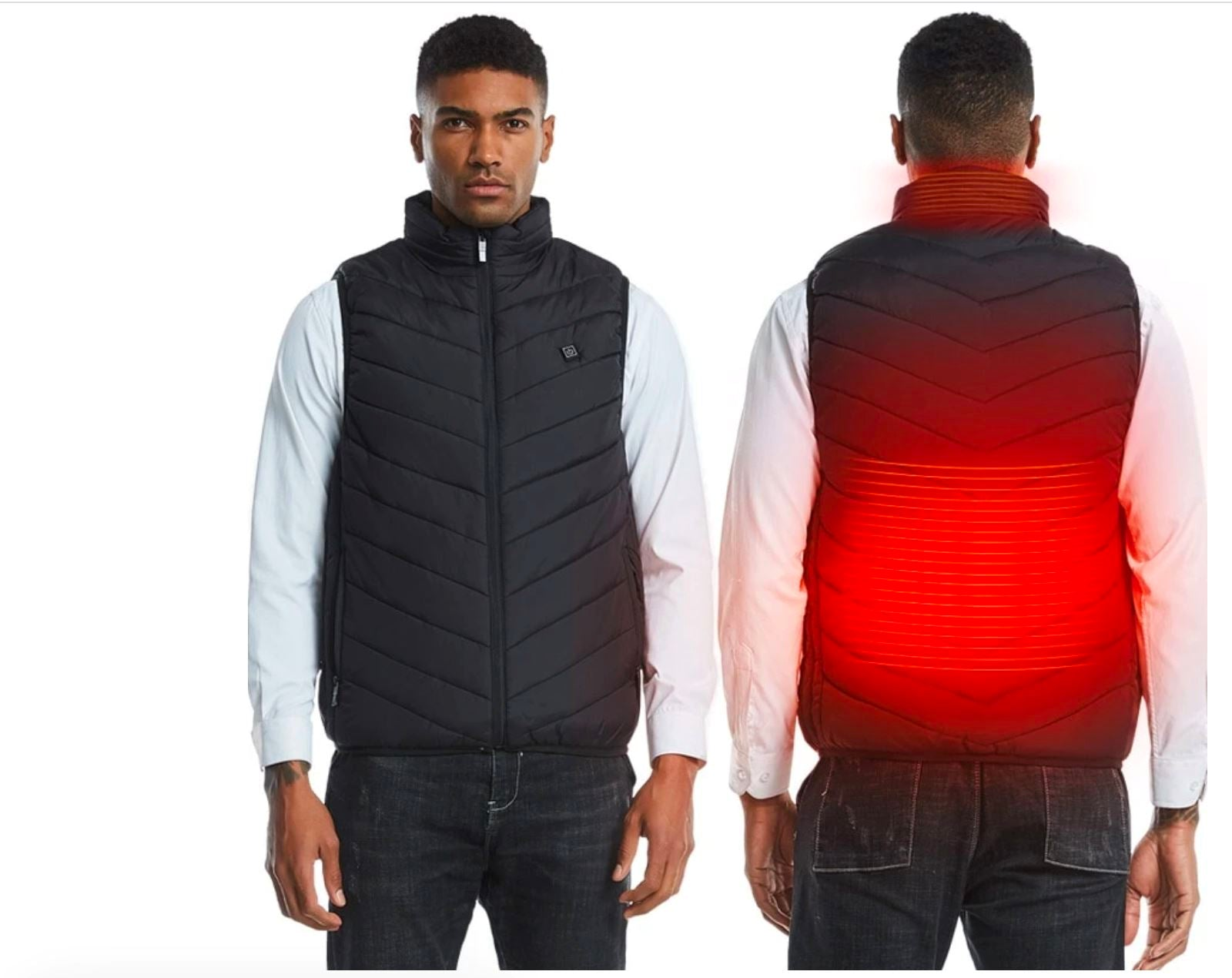 Unisex USB Heated Jacket Vest
