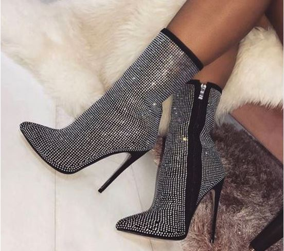 High Heels Women's Ankle Boots