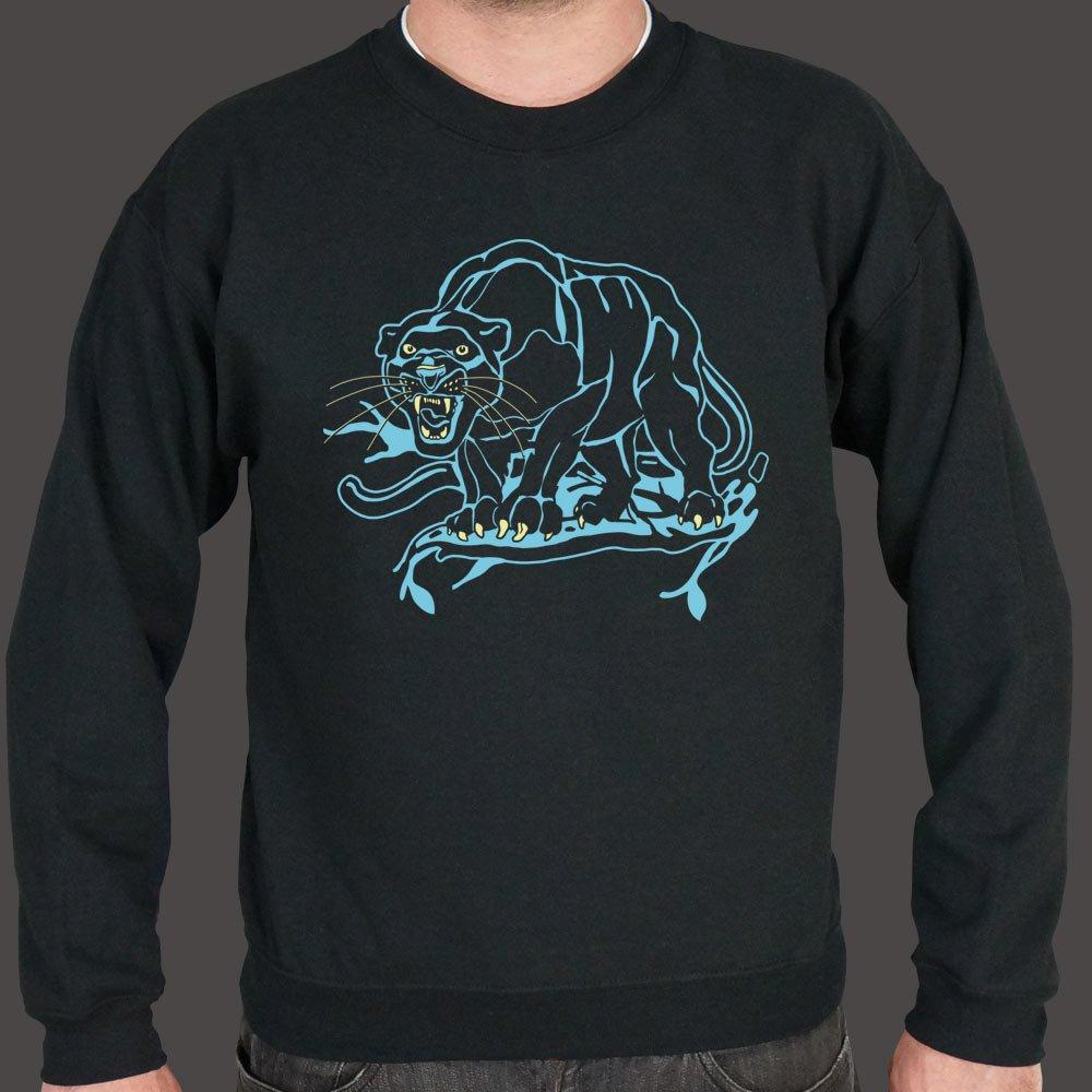 Black Panther Sweater (Mens) Sweatshirt US Drop Ship Small Black