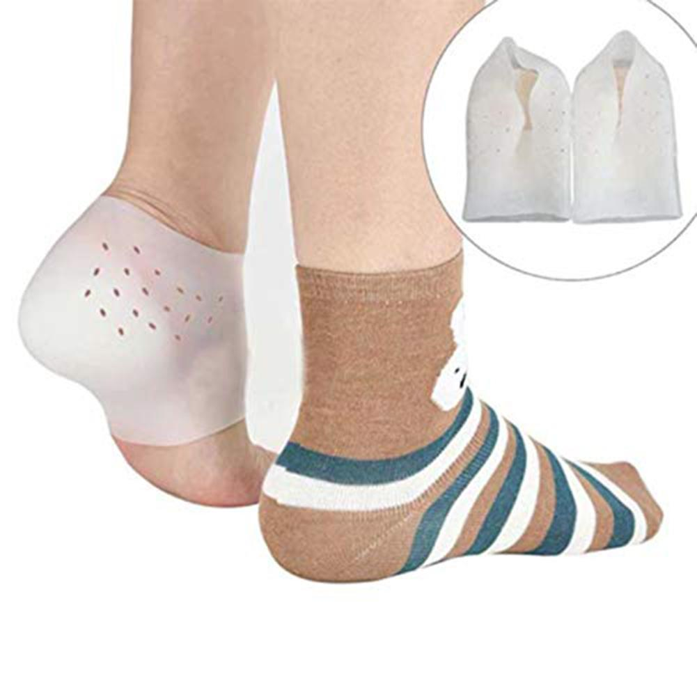 1 Pair Unisex Invisible Height Lifting Increase Silicone Sock