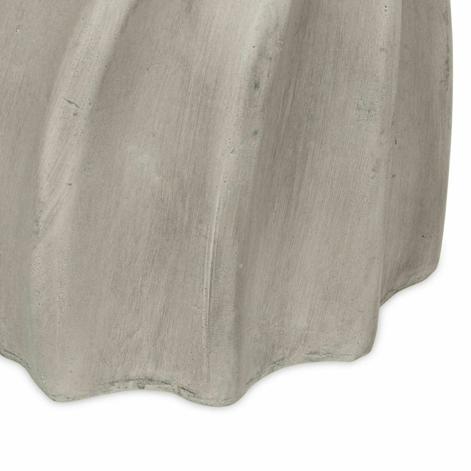 Indoor Contemporary Lightweight Concrete Accent Side Table gdfstudio