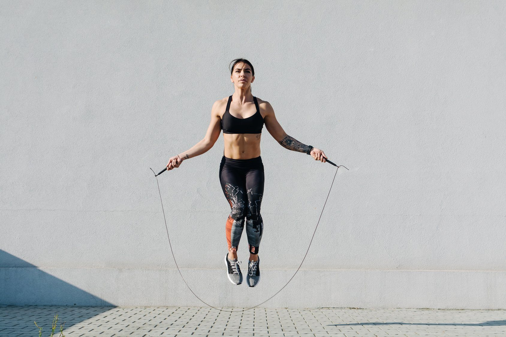 Crossfit High-Speed Exercise Jump Rope With Free Portable Rope Bag