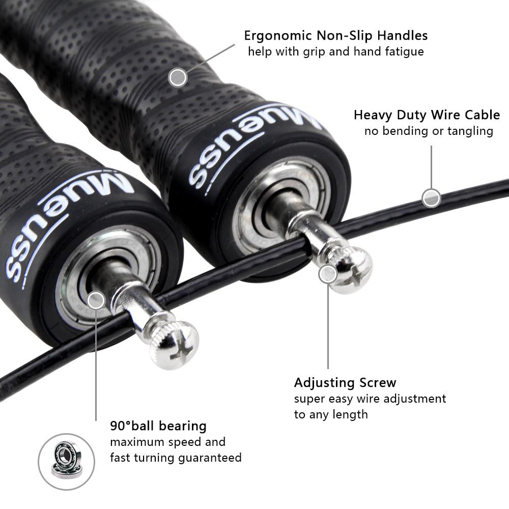 Crossfit High-Speed Exercise Jump Rope With Free Portable Rope Bag Urban Pronto
