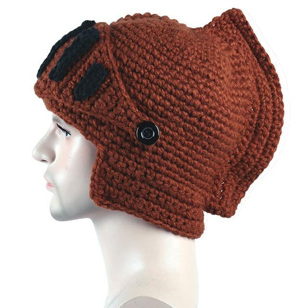 Roman Knight Beanies Fashion Accessories Urban Pronto MA058 caramel One Size