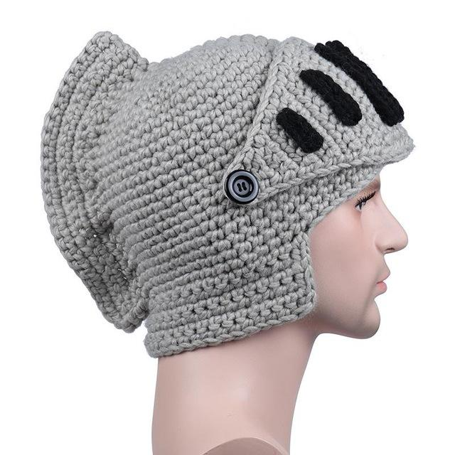 Roman Knight Beanies Fashion Accessories Urban Pronto MA058 Light gray One Size