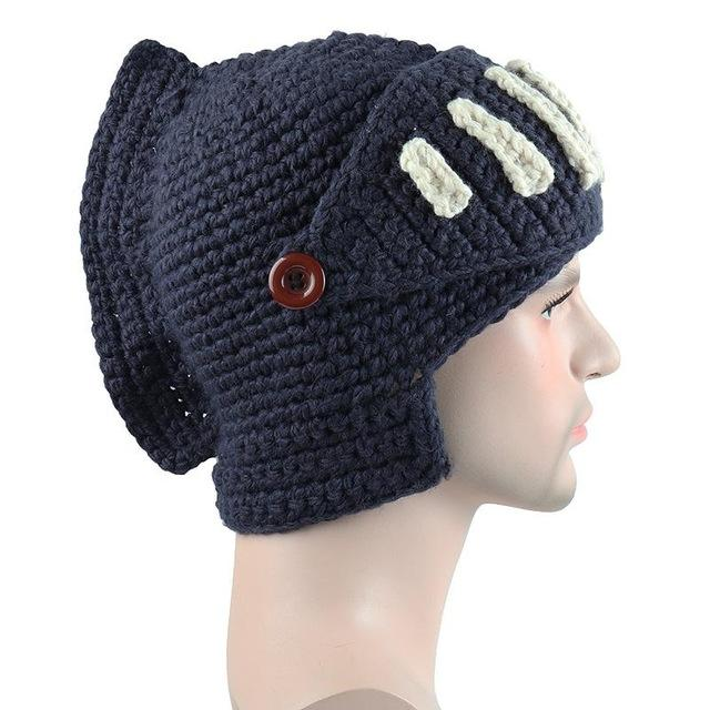 Roman Knight Beanies Fashion Accessories Urban Pronto MA058 Navy blue One Size