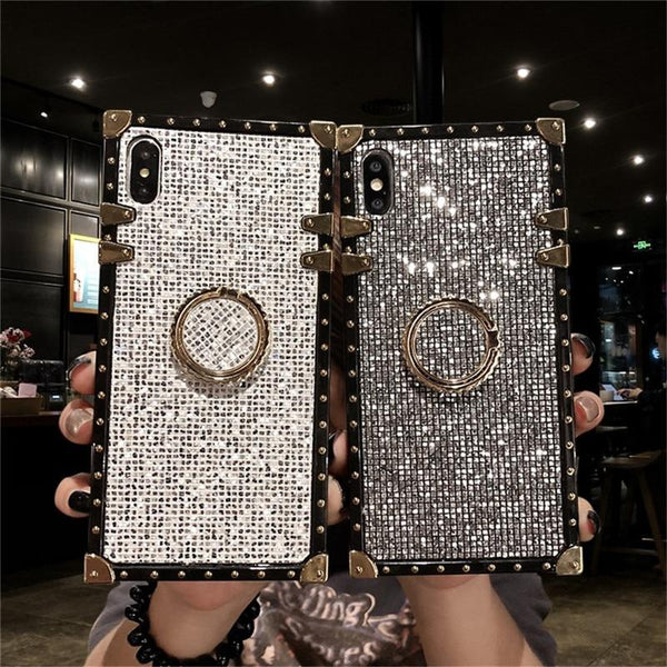 Metal Stand Phone Case For iPhone 11 Pro MAX 6 6S 7 8 Plus XS MAX XR X And For Samsung S8 S9 S10e Plus Note 8 9 10 Pro Urban Pronto