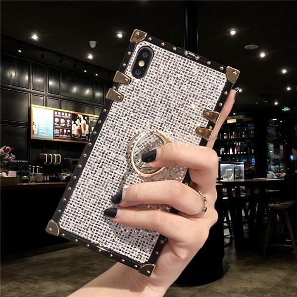 Metal Stand Phone Case For iPhone 11 Pro MAX 6 6S 7 8 Plus XS MAX XR X And For Samsung S8 S9 S10e Plus Note 8 9 10 Pro Urban Pronto for samsung Note 8 which ring