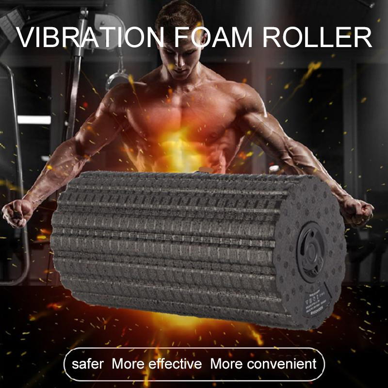 4-Speed Vibrating Yoga and Muscle Foam Roller Urban Pronto