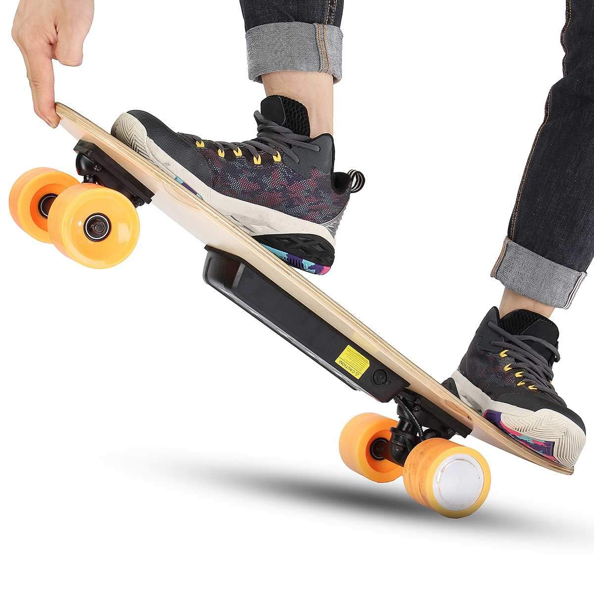 Electric Longboard Skate with Wireless Remote Control Gadgets Urban Pronto