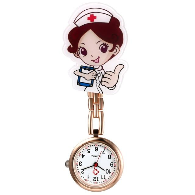 Nurse Clip-On Fob Brooch Pendant Hanging Pocket Watch Urban Pronto a United States