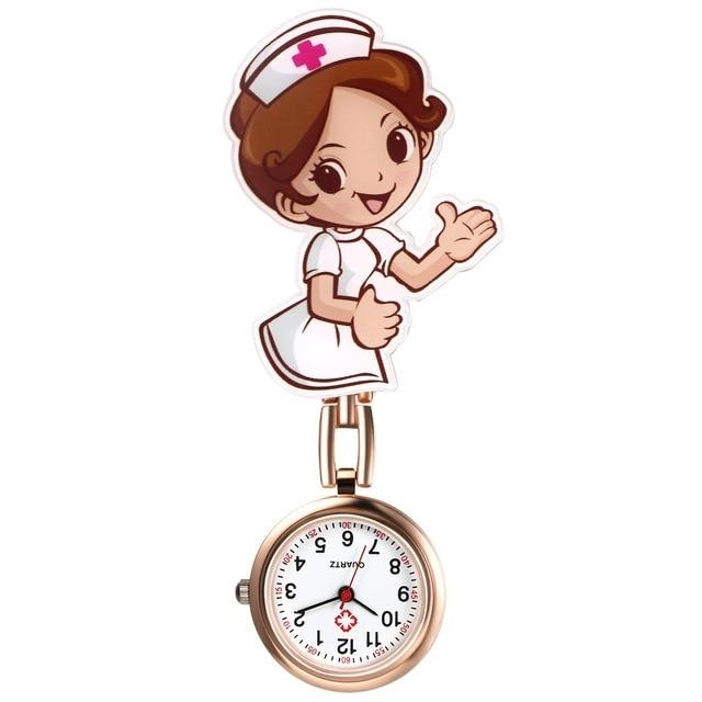 Nurse Clip-On Fob Brooch Pendant Hanging Pocket Watch Urban Pronto b United States