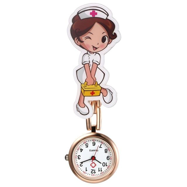 Nurse Clip-On Fob Brooch Pendant Hanging Pocket Watch Urban Pronto c United States