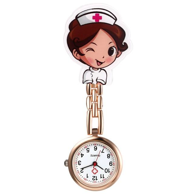 Nurse Clip-On Fob Brooch Pendant Hanging Pocket Watch Urban Pronto d United States