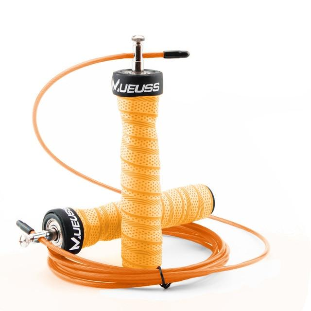 Crossfit High-Speed Exercise Jump Rope With Free Portable Rope Bag Urban Pronto Orange