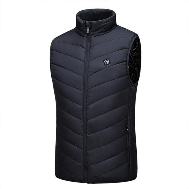 Unisex USB Heated Jacket Vest Urban Pronto Black M