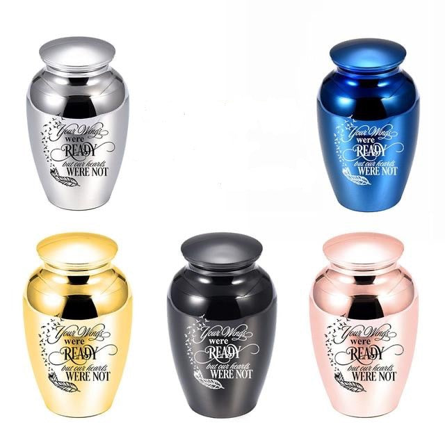 Pet Urn Ashes Holder Urban Pronto Style C (45X70mm) Color-Silver