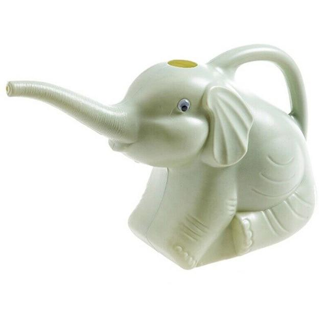 Long-Mouth Plastic Elephant Watering Can For Home Patio, Lawn Gardening, and Plants Outdoor Urban Pronto B