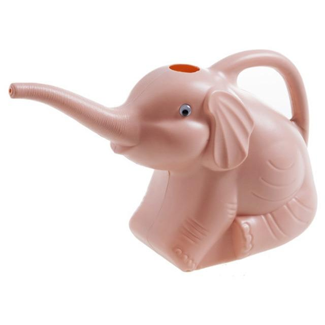 Long-Mouth Plastic Elephant Watering Can For Home Patio, Lawn Gardening, and Plants Outdoor Urban Pronto C