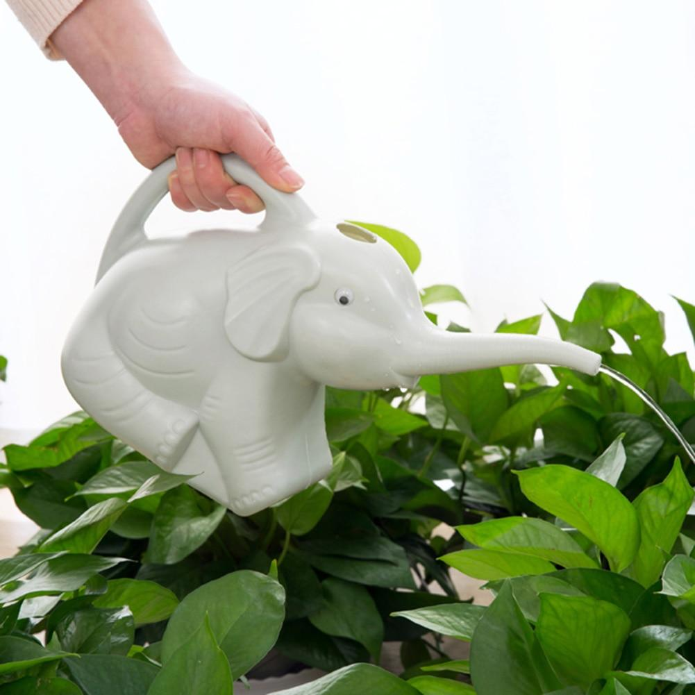 Long-Mouth Plastic Elephant Watering Can For Home Patio, Lawn Gardening, and Plants Outdoor Urban Pronto