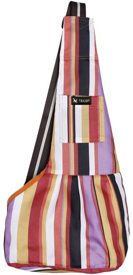 Dog Sling Mesh Bag Pet Accessories UrbanPronto stripe S
