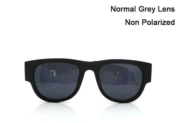 Polarized Slappable Bracelet Sun Glasses Urban Pronto Non Polarized Grey WHITE