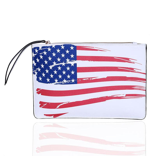 Printed American 3D Clutch Urban Pronto