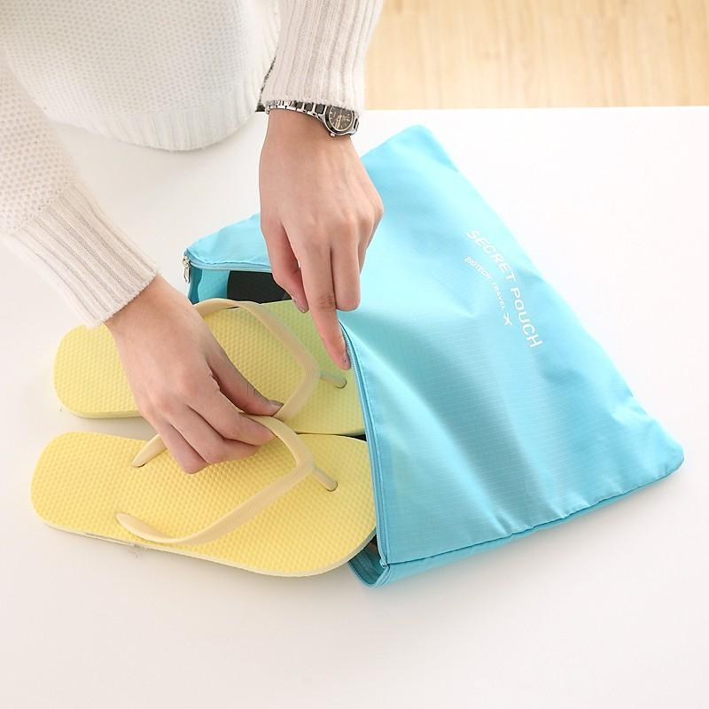 Travel Organizer Gadgets UrbanPronto light blue