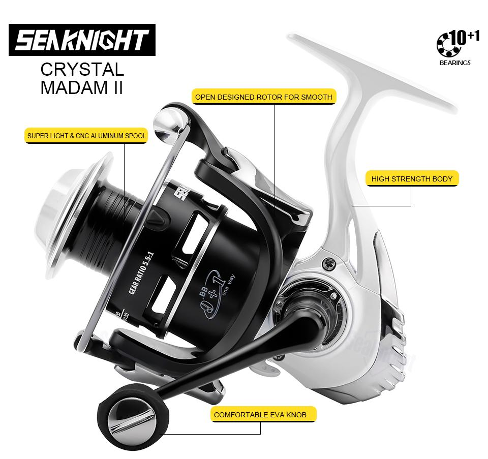 High Speed Spinning Fishing Reel Outdoor Living UrbanPronto