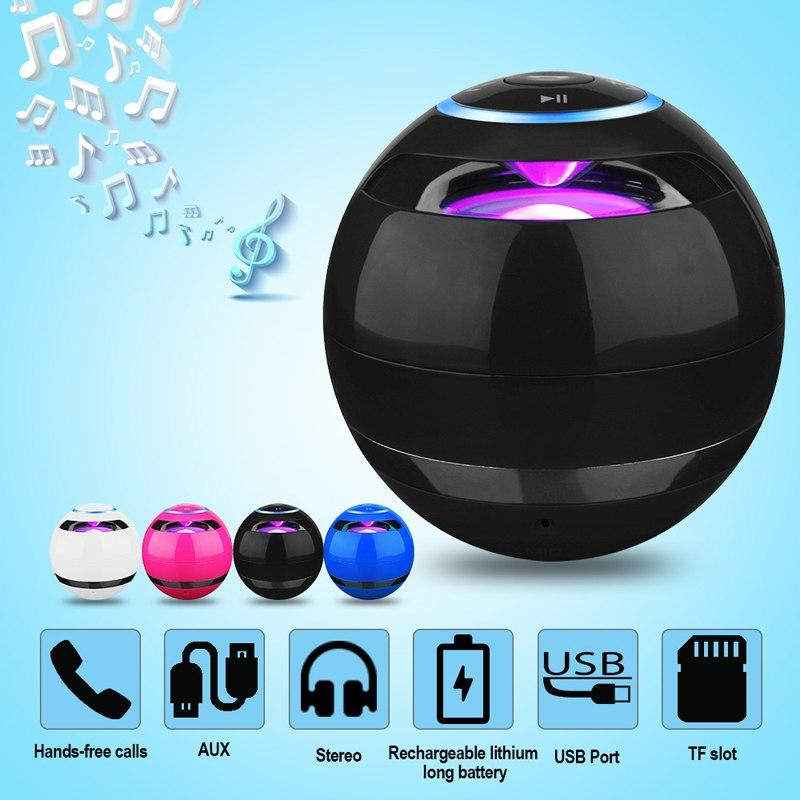 LED Bluetooth Wireless HandsFree Speaker with Mini Subwoofer Urban Pronto