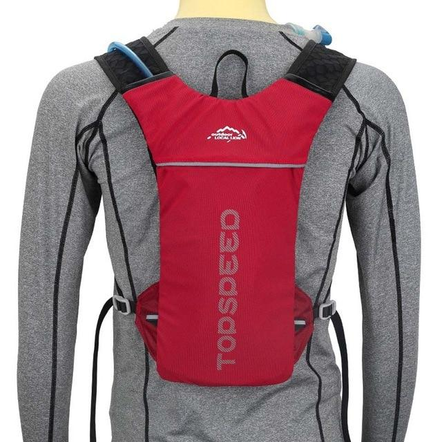 Water Resistant Hydration Backpack Urban Pronto Red