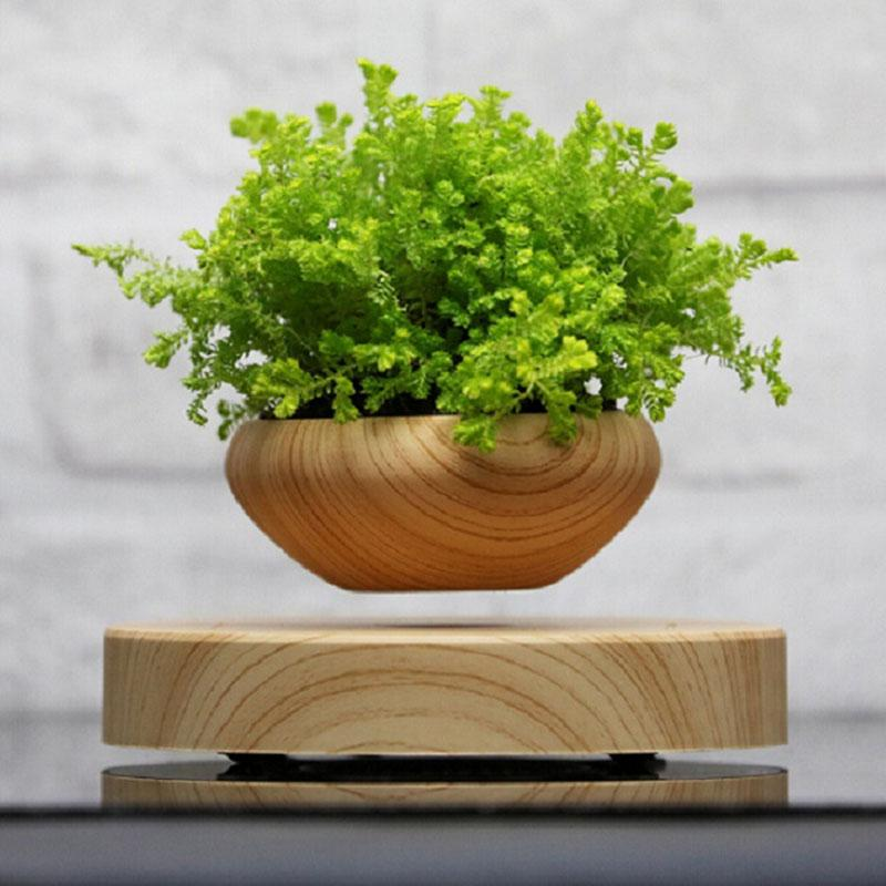 Magnetic Levitation Plant Pot Gadgets Urban Pronto