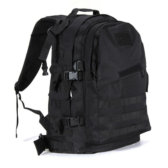Military Tactical Backpack Urban Pronto Black 50 - 70L