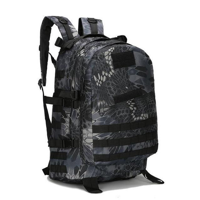Military Tactical Backpack Urban Pronto Python Black 50 - 70L