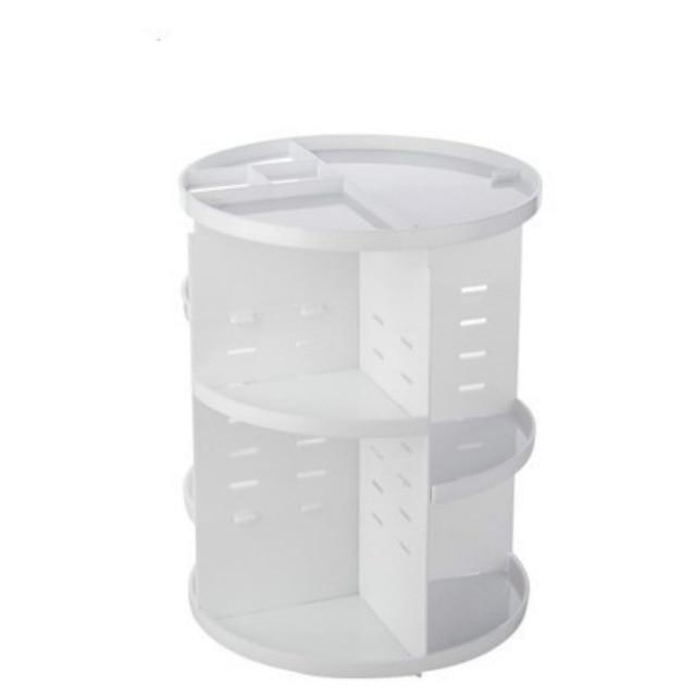 360 Rotating Makeup Organizer Urban Pronto 613SYK-White