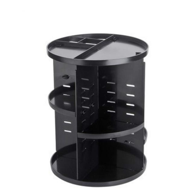 360 Rotating Makeup Organizer Urban Pronto 613SYK-Black