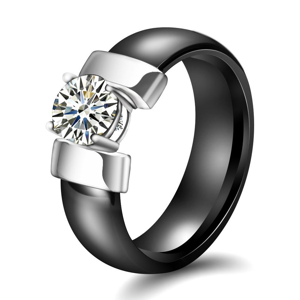 Cubic Zirconia Ring Fashion Accessories Urban Pronto