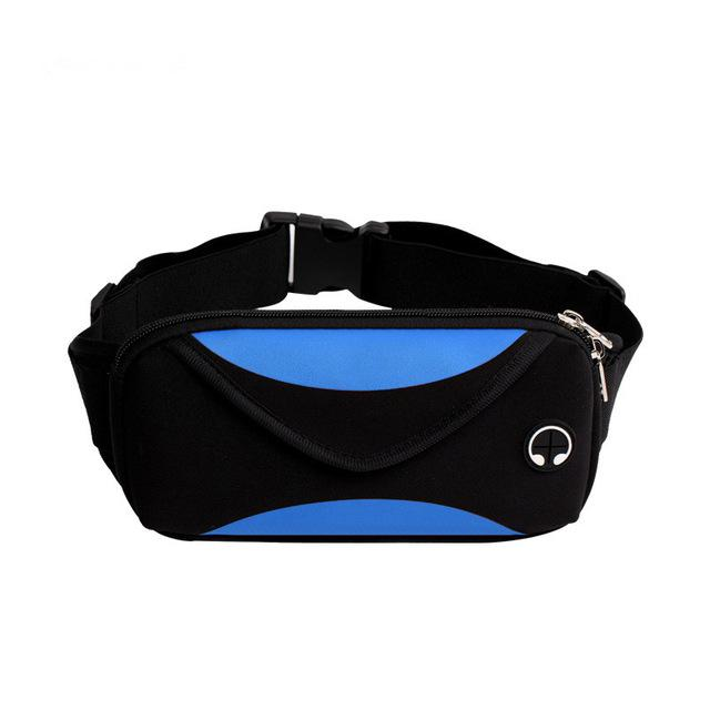 Waterproof Waist Bag Fanny Pack Urban Pronto Blue