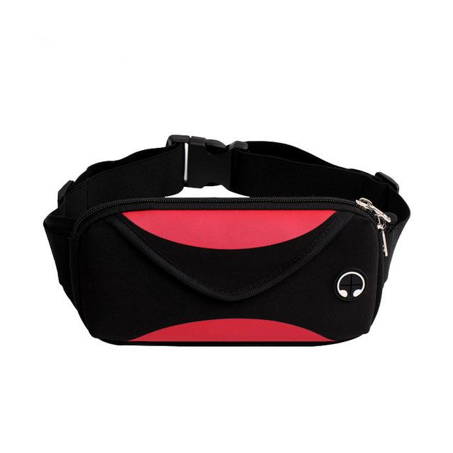 Waterproof Waist Bag Fanny Pack Urban Pronto Red