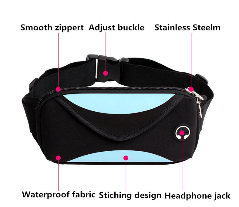 Waterproof Waist Bag Fanny Pack Urban Pronto