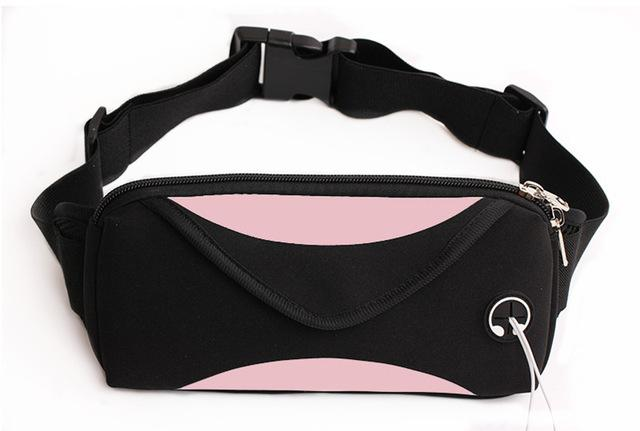 Waterproof Waist Bag Fanny Pack Urban Pronto Pink