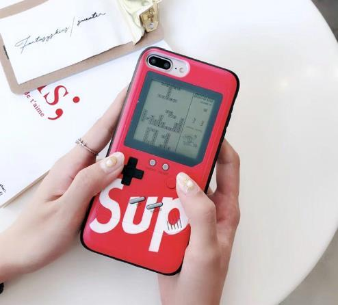 Gameboy Phone Case Gadgets UrbanPronto Red For IP 6 6s