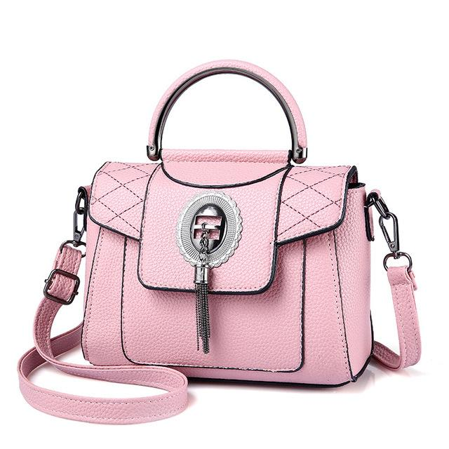 Women's PU Leather Handbag Urban Pronto Pink