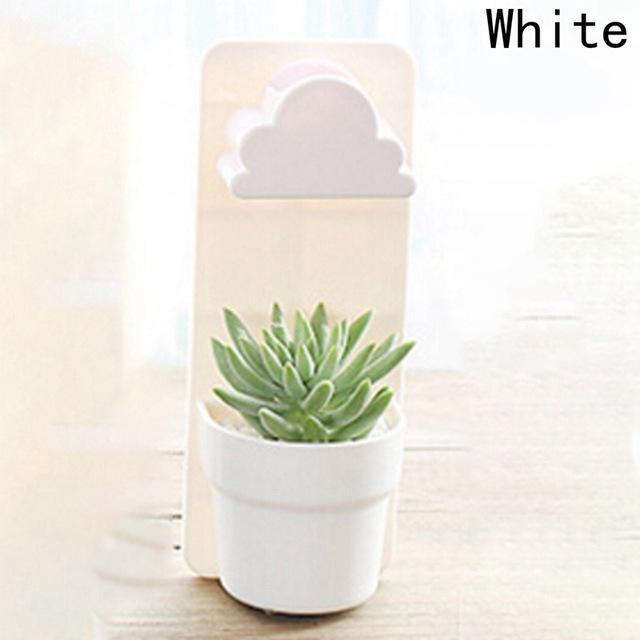 Raining Cloud Hanging Plant Flower Pot Urban Pronto White